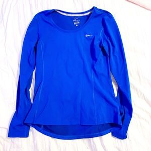Nike Dri Fit Running Long Sleeve Top